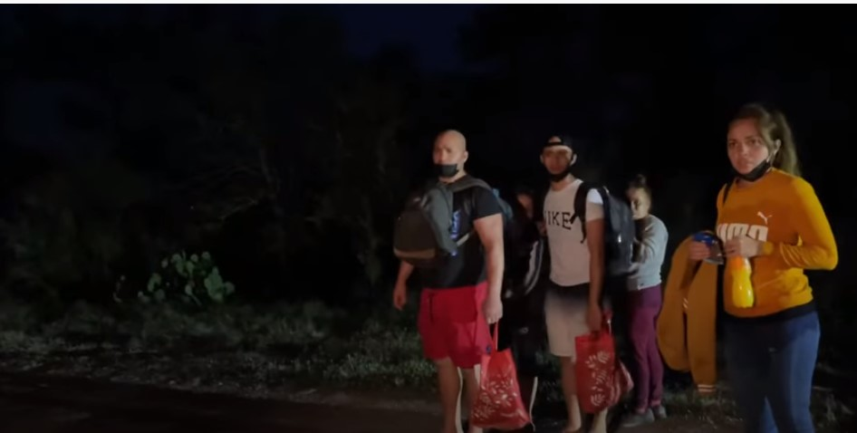 Another Group Of Biden Supporters Walking Into America From Cuba [VIDEO]
