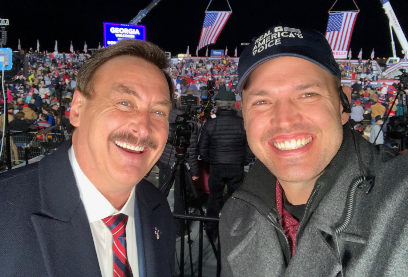 Mike Lindell and Ben Bergquam